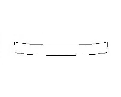 2019 VOLKSWAGEN JETTA R-LINE Real Bumper Deck