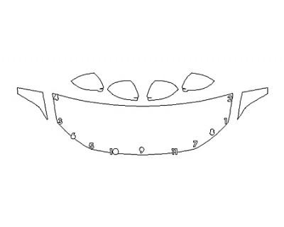 2020 VOLKSWAGEN JETTA SE Hood(24 Inch) Fenders Mirrors
