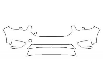 2020 VOLVO XC40 R-DESIGN Bumper