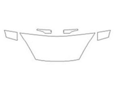 2020 FORD FIESTA HATCHBACK S Hood (24 Inch) Fenders Mirrors