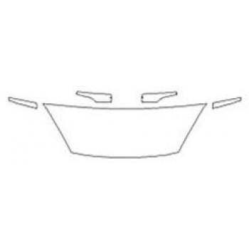2019 FORD FIESTA HATCHBACK S Hood (18 Inch) Fenders Mirrors