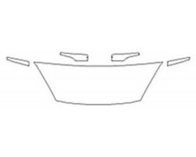 2020 FORD FIESTA HATCHBACK TITANIUM Hood (18 Inch) Fenders Mirrors