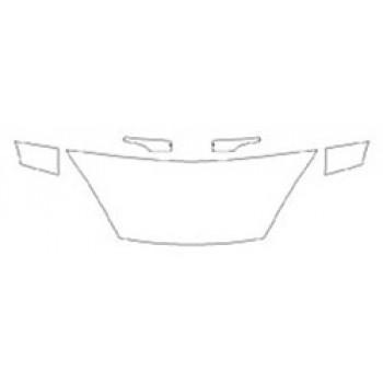 2020 FORD FIESTA SEDAN SE Hood (24 Inch) Fenders Mirrors