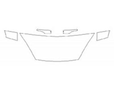 2020 FORD FIESTA SEDAN TITANIUM Hood (24 Inch) Fenders Mirrors