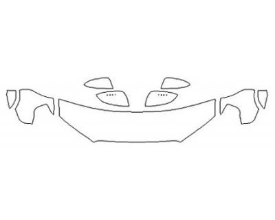 2018 TOYOTA 4RUNNER SR5 PREMIUM Hood (18 Inch) Fenders Mirrors