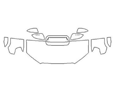 2020 TOYOTA 4RUNNER TRD OFF-ROAD PREMIUM Hood (24 Inch) Fenders Mirrors