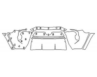 2020 TOYOTA 4RUNNER TRD OFF-ROAD PREMIUM Bumper