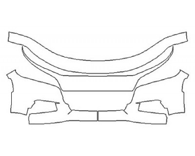 2020 DODGE CHARGER RT Bumper (4 Piece)