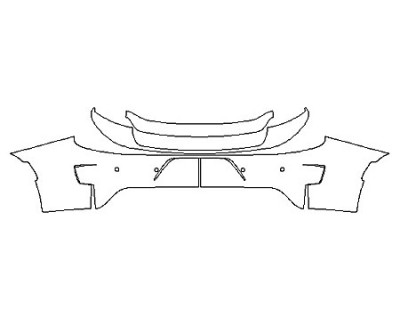 2020 DODGE CHARGER SRT 392 Full Rear Bumper