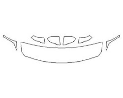 2018 BMW X2 SDRIVE28I BASE Hood (18 Inch) Fenders Mirrors