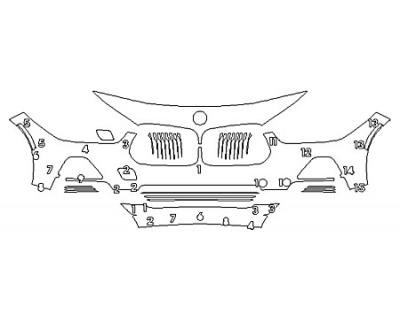2019 BMW X2 SDRIVE28I BASE Bumper