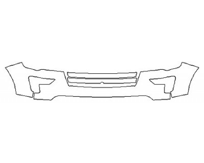 2018 FORD EXPLORER PLATINUM Bumper