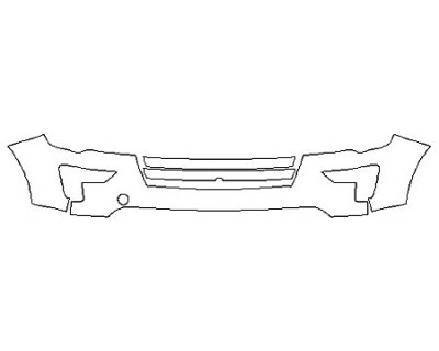 2018 FORD EXPLORER PLATINUM Bumper With Tow Hook