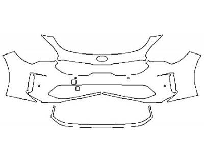 2018 KIA STINGER BASE Bumper With Sensors