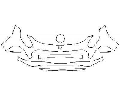 2018 MERCEDES AMG GT C ROADSTER Bumper