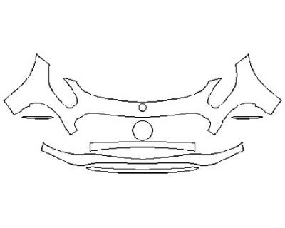 2018 MERCEDES AMG GT ROADSTER Bumper