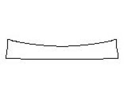 2018 MERCEDES S-CLASS SEDAN S450 4MATIC AMG LINE Rear Bumper Deck