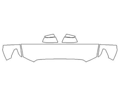 2020 TOYOTA SEQUOIA PLATINUM Hood (18 Inch) Fenders Mirrors
