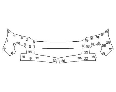 2020 TOYOTA SEQUOIA PLATINUM Bumper