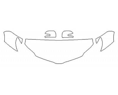 2020 TOYOTA SIENNA XLE Hood (24 Inch) Fenders Mirrors