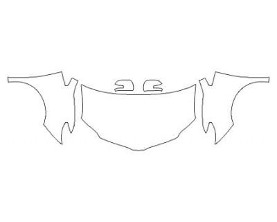 2020 TOYOTA SIENNA XLE PREMIUM Full Hood Fenders Mirrors