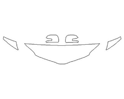 2020 TOYOTA SIENNA XLE PREMIUM Hood (18 Inch) Fenders Mirrors