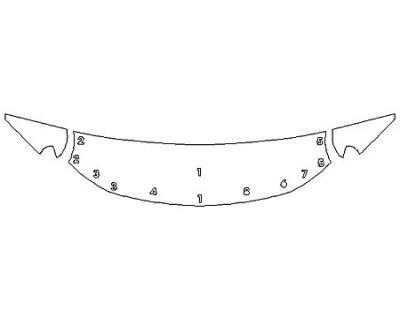 2020 CHEVROLET SILVERADO 1500 Z71 Hood (24 Inch) Fenders Mirrors