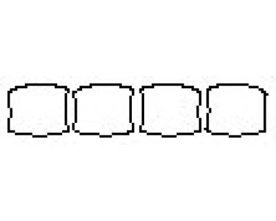 2020 CHEVROLET SILVERADO 1500 Z71 Door Cups