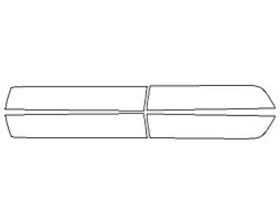 2020 CHEVROLET SILVERADO 1500 Z71 Doors
