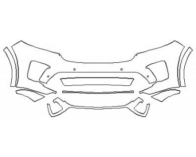 2020 KIA SORENTO SXL Bumper (8 Piece)