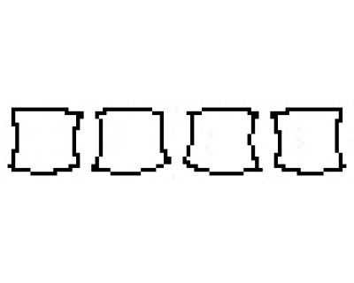 2020 KIA SORENTO SXL Door Cups
