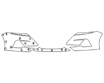 2020 NISSAN ALTIMA Bumper (5 Piece)