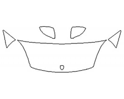 2020 PORSCHE CAYENNE Hood (24 Inch) Fenders Mirrors