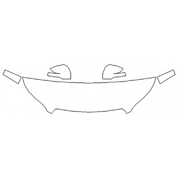 2020 SUBARU FORESTER BASE Hood (18 Inch) Fenders Mirrors