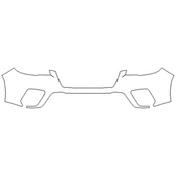 2020 SUBARU FORESTER BASE Bumper