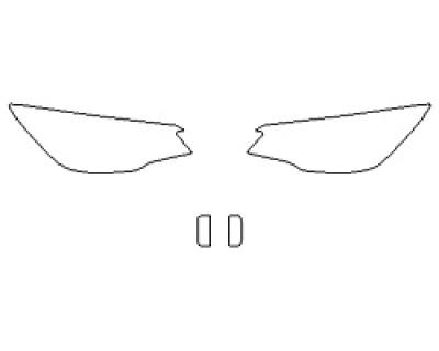 2020 SUBARU FORESTER BASE Headlights