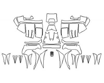 2019 FERRARI 488_PISTA Full Rear Diffuser