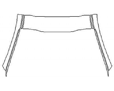 2019 KIA K900 Roof A-Pillars