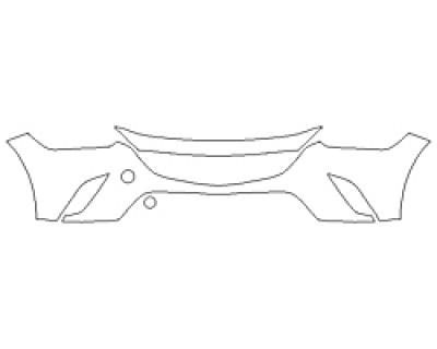 2018 MAZDA CX-3 GS Bumper