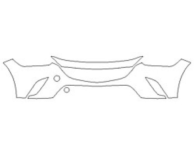 2018 MAZDA CX-3 GX Bumper