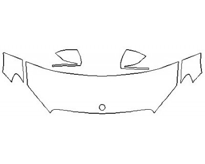 2019 MERCEDES C-CLASS_C300_CABRIOLET_BASE Hood (24 Inch) Fenders Mirrors