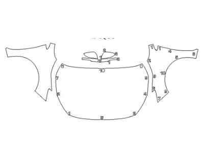 2020 SUBARU IMPREZA 2 Full Hood Fenders Mirrors