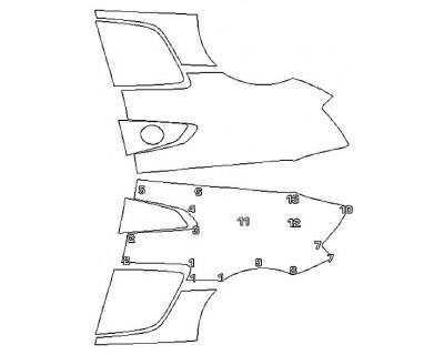 2020 AUDI R8 COUPE V10 PERFORMANCE Full Rear Quarters