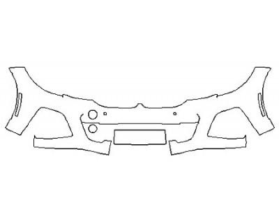 2020 BMW M340I Bumper (Option 1 Wrapped Edges)