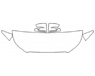 2020 HYUNDAI PALISADE SEL Hood(24 Inch) Fenders Mirrors