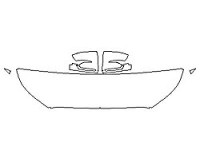 2020 HYUNDAI PALISADE SEL Hood(18 Inch Wrapped Edges) Fenders Mirrors
