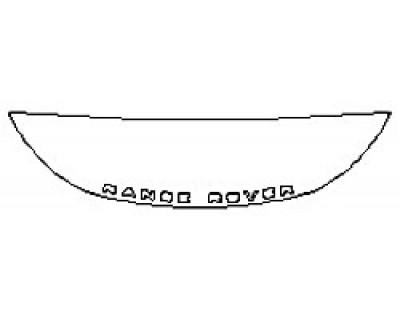 2020 LAND ROVER RANGE ROVER EVOQUE S Hood(18 Inch) Fenders Mirrors
