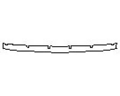 2020 LAND ROVER RANGE ROVER EVOQUE S Rear Bumper Deck