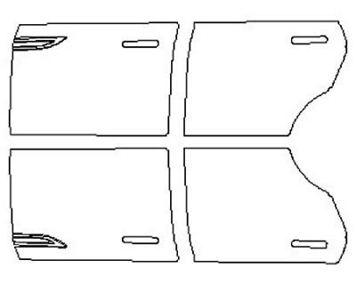 2020 LAND ROVER RANGE ROVER EVOQUE S Full Doors (Wrapped Edges)