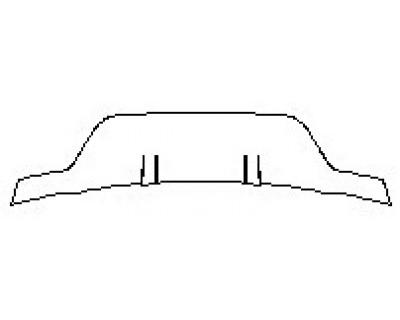 2020 LAND ROVER RANGE ROVER EVOQUE S Full Rear Diffuser